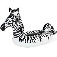 Bestway Badeinsel Zebra mit LED-Licht