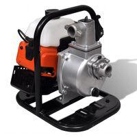 Benzinbetriebene Wasserpumpe 2 Takt 1,45 kW 0,95 l
