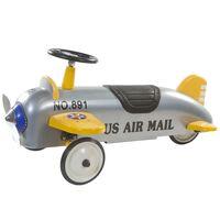 Retro Roller Charles Kinderauto Flugzeug-Design Rutscher