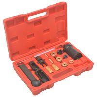vidaXL 18-tlg. Injektor-Werkzeugsatz zum Ein- & Ausbauen VAG VW Petrol