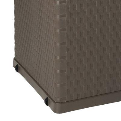 vidaXL Gartenbox Braun 120×56×63 cm