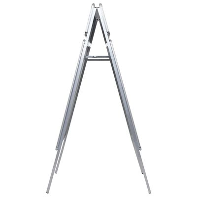 vidaXL A1 Kundenstopper Plakatständer mit Topschild Aluminium