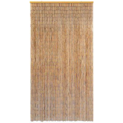 vidaXL Insektenschutz Türvorhang Bambus 120 x 220 cm