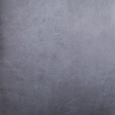 vidaXL Esszimmerstühle 6 Stk. Grau Wildleder-Optik