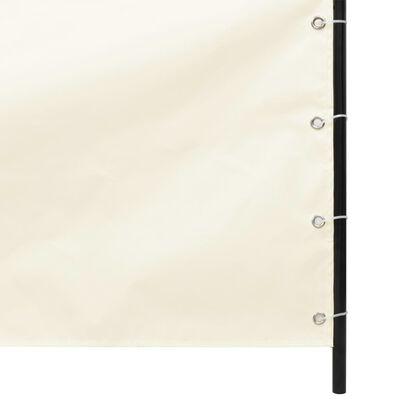 vidaXL Senkrechtmarkise Oxford-Gewebe 140×240 cm Creme