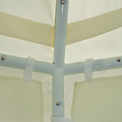 vidaXL Partyzelt-Plane Beige 6 x 6 x 3,5 m Stoff