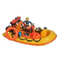 Simba Spielzeugboot Neptune Rot und Gelb
