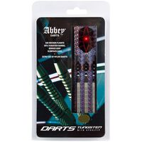 Abbey Darts Darts-Set 3 Stk. 85% Wolfram 24g Silbern