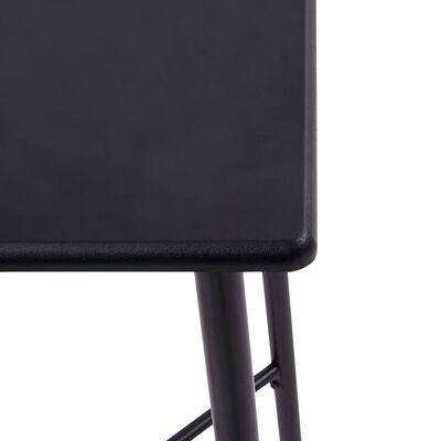 vidaXL 5-tlg. Bar-Set Kunstleder Orange