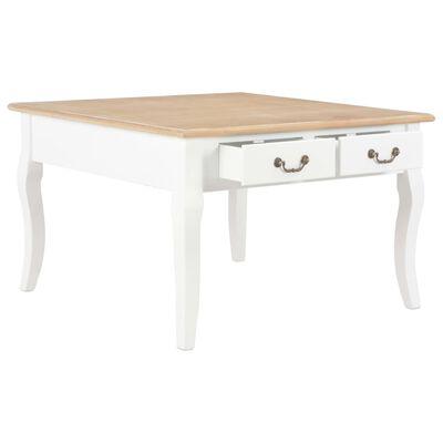 vidaXL Couchtisch Weiß 80 x 80 x 50 cm Holz