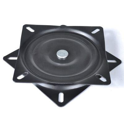 vidaXL Bootssitz-Drehplatten 2 Stk. Standard 160×160×2,5 mm