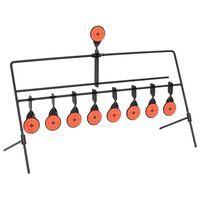 vidaXL Auto Reset Zielscheiben-Halterung mit 8+1 Zielen