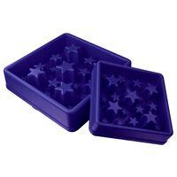 EAT SLOW LE LONGER Anti-Schling-Napf für Hunde Star Blau L