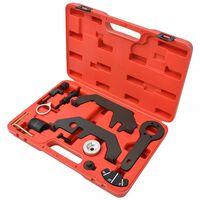 vidaXL 12-tlg. Einstellwerkzeug-Set für Nockenwelle/Kurbelwelle V8 V12 N62 N73