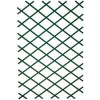 Nature Garten-Rankgitter 100x300 cm PVC Grün