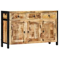 vidaXL Sideboard 120 x 35 x 76 cm Massivholz Mango