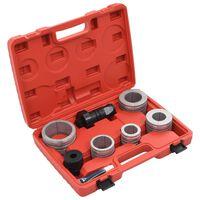 vidaXL 8-tlg. Rohraufweiter-Set Kohlenstoffstahl und Aluminium