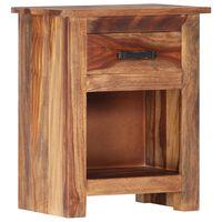 vidaXL Nachttisch 40×30×50 cm Massivholz
