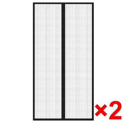 2x Insektenschutz Türvorhang Fliegennetz Mückenschutz