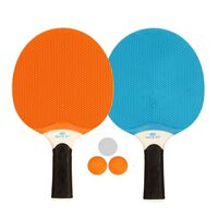 Get & Go Outdoor Tischtennis-Set Blau/Orange/Hellgrau 61UP
