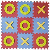 GUTA Tic Tac Toe Kinder-Spielmatte aus Schaumstoff