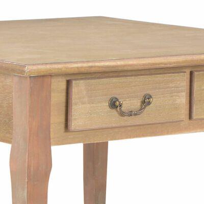 vidaXL Couchtisch Braun 80 x 80 x 50 cm Holz