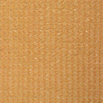 vidaXL Außenrollo 400 x 140 cm Beige