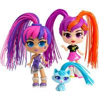 Silverlit Curli Girls Twin Spielzeug-Set Mehrfarbig