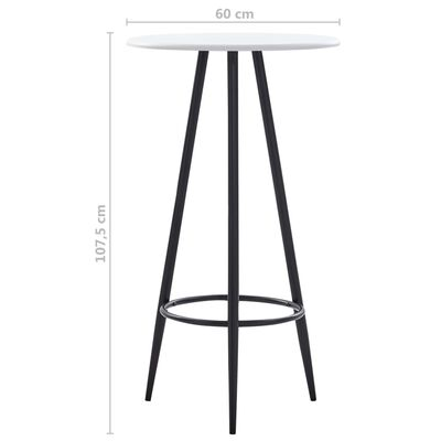 vidaXL 5-tlg. Bar-Set Stoff Grün
