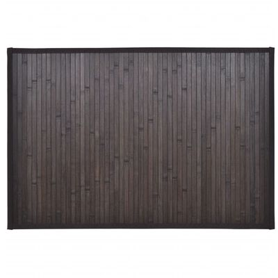 vidaXL Bambus-Badematten 8 Stk. 40x50 cm Dunkelbraun