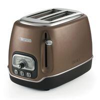Ariete 2-Scheiben-Toaster Classica Bronzen