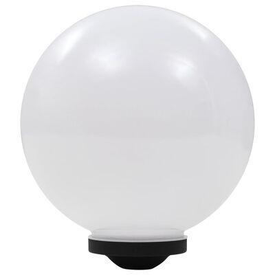vidaXL Solar-Außenleuchten 4 Stk. LED Kugelförmig 30 cm RGB