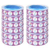 vidaXL Nachfüllkassetten für Windeleimer Angelcare Diaper Genie 12 Stück