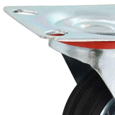 vidaXL 8 Stk. Lenkrollen 75 mm