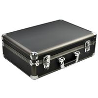 DESQ Universal-Schutzkoffer ABS Groß Schwarz