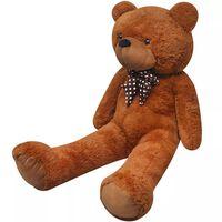 XXL Weicher Plüsch-Teddybär Braun 150 cm
