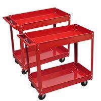 Werkstattwagen 2 Ablagen 100 kg (2 Stück)
