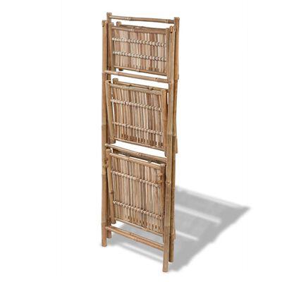 Bambus-Pflanzenständer dreistufig