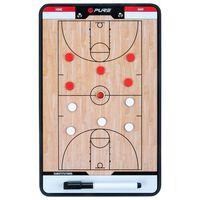 Pure2Improve Doppelseitiges Coach-Board Basketball 35×22 cm P2I100620
