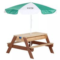 AXI Sand-/Wasser-Spieltisch Nick mit Sonnenschirm
