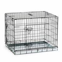 Beeztees Hundebox 78x55x61 cm Schwarz 715802