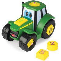 TOMY Formen-Lernspielzeug Traktor John Deere