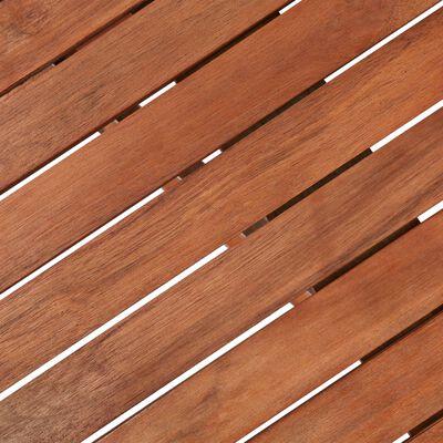 vidaXL 5-tlg. Garten-Essgruppe Klappbar Akazie Massivholz