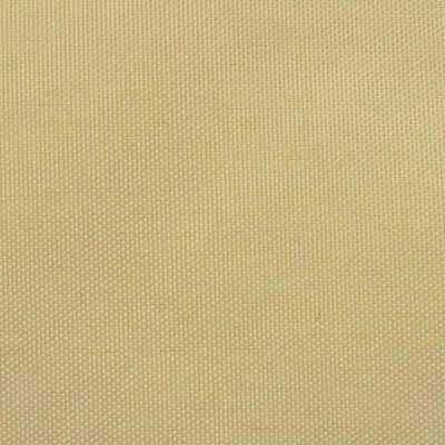 vidaXL Sonnensegel Oxford Gewebe Dreieckig 5 x 5 x 5 m Beige