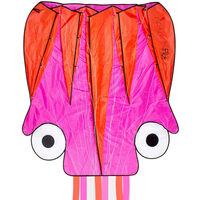Dragon Fly Oktopus-Lenkdrachen 124×127cm Rosa und Orange