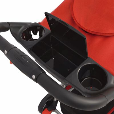 vidaXL Buggy Rot 102×52×100 cm