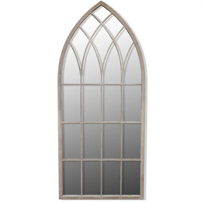 vidaXL Rustikaler Gartenspiegel Bogen 50×115 cm für Indoor und Outdoor