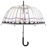 Esschert Design Regenschirm Transparent Vogelkäfig