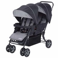 Safety 1st Tandem-Kinderwagen Teamy Schwarz 1151666000