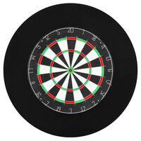 vidaXL Professionelles Dartboard-Surround Auffangring EVA
